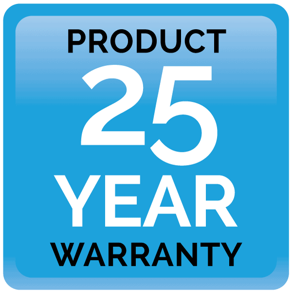 25 year product warranty