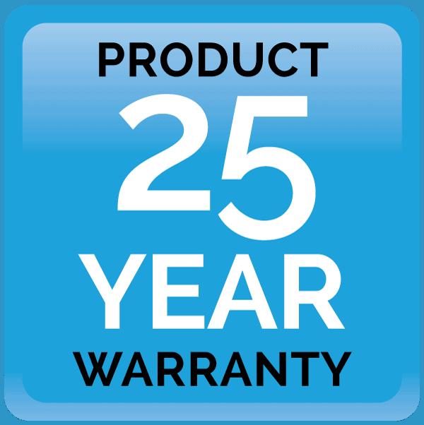 25 year product warranty