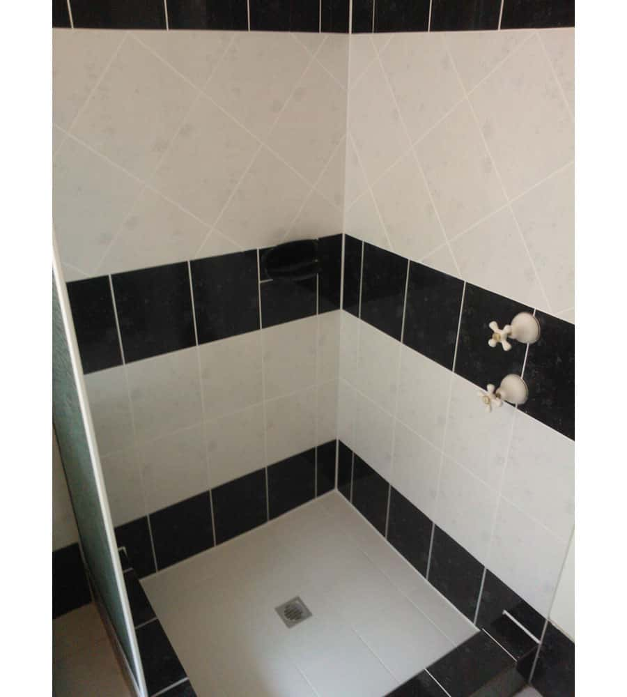 Shower retiling floor tile removal water proofing works shower retiling floor tile removal dailygadgetfo Gallery